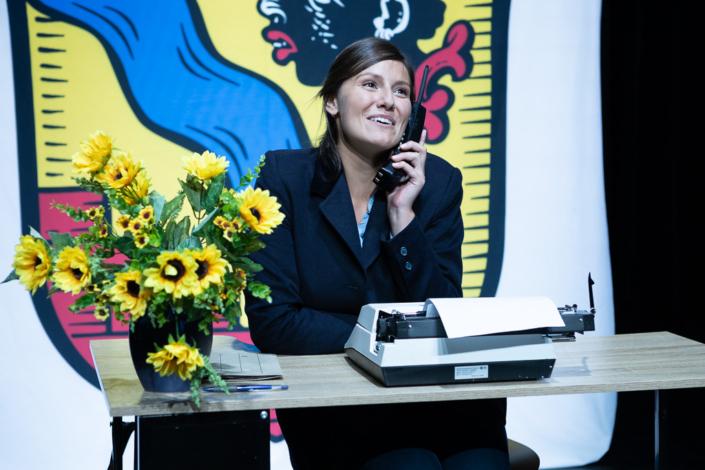 Ja wo gibt's denn so was - Erster Arbeitstag der Kulturamtsleitung vor 10 Jahren (Milana Kosjer)