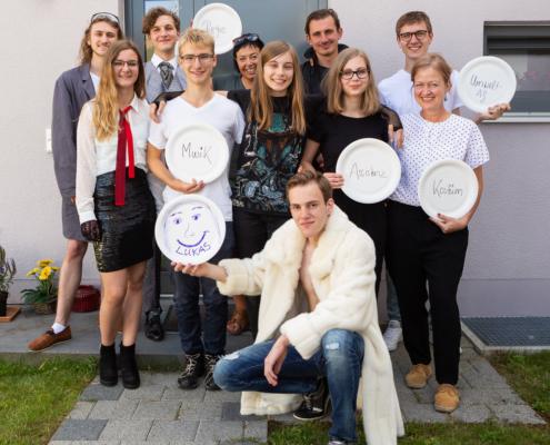 Junges Bürgerhaus Unterföhring - Der Wunschpunsch - Gruppenfoto